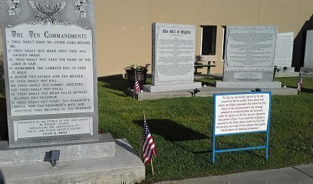 Private Donations Reach $55000 to Replace Destroyed Ten Commandments Monument