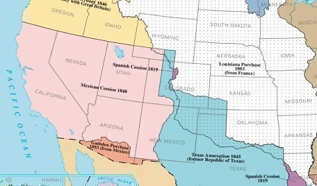 The Gadsden Purchase and a failed attempt at a southern railroad