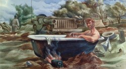Soldier Bathing