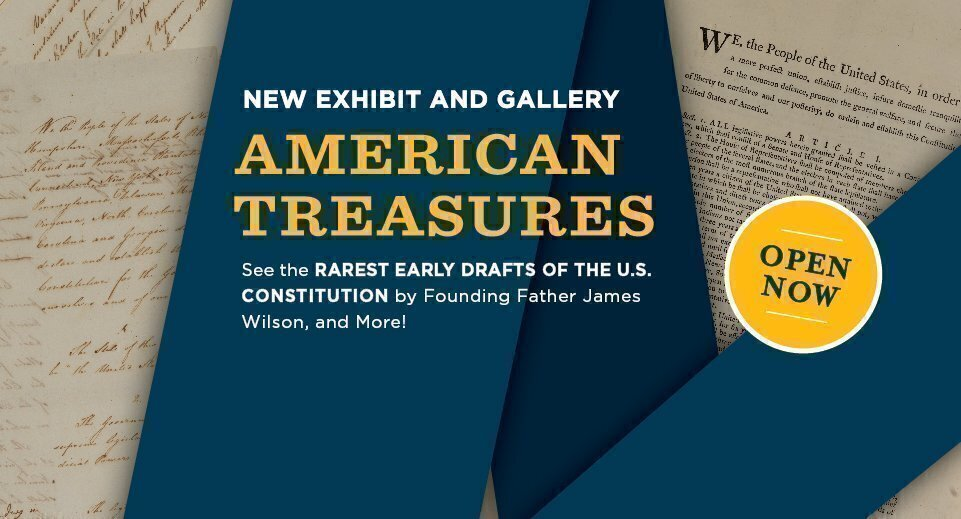 American Treasures: Documenting the Nation's Founding