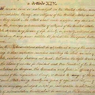 The 14th Amendment<br>National Archives and Records Administration