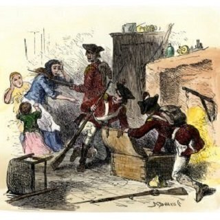 Third Amendment Quartering Act Of 1774 Lets British Troops Into Colonial Buildings